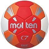 Molten H1C3500-RO Ballon de Handball pour Enfant Rouge