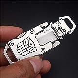 NedFoss Messer Outdoor Mini Klein EDC Taschenmesser Taschenwerkzeug Gürtelmesser (Silber)
