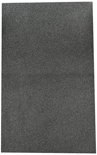 Duck Replacement Air Conditioner Foam Filter, 24-inch by 15-inch by 1/4-inch.