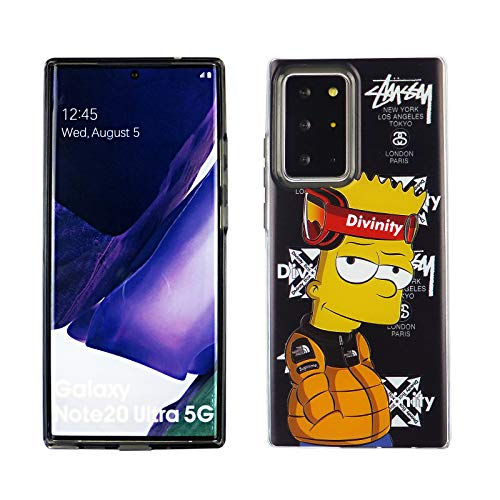 Galaxy Note 20 Ultra Dual Slim Case CASEVEREST 3D Print Cover Galaxy Note 20 Ultra Bart Simpson Fashion PC+TPU