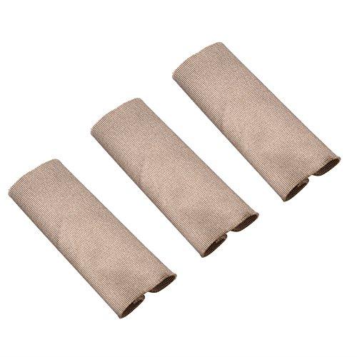 Wbestexercises 6个钓鱼手指保护器,手指保护器盖,手指皮肤防护罩,飞线钓鱼保护手指