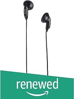 (Renewed) Philips SHE1360/97 in-Ear Headphones (Black)