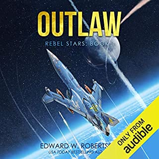 Outlaw audiobook cover art