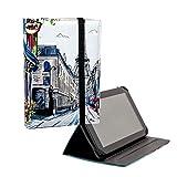 ANVAL Funda para Tablet 7', 8', 9,7', 10,1' - Universal - Personalizable, Compatible Tableta 7, 8, 9.7, 10.1 Pulgadas