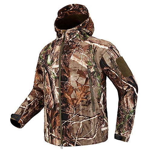 Lilychan Men's Military Soft Shell Tactical Jacket Outdoor Sports Hunting