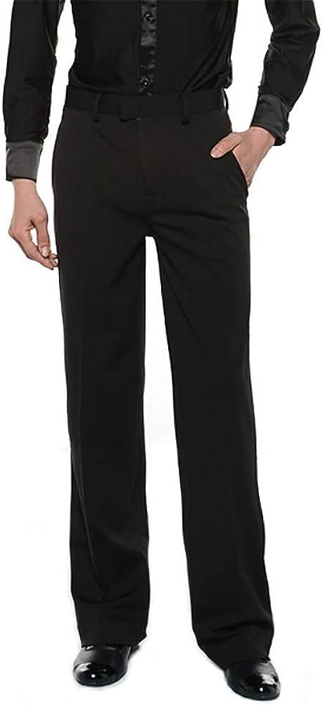 Al sold out. HAORUN Men Ballroom Latin Max 72% OFF Salsa Dance Pants Trousers Comp Modern