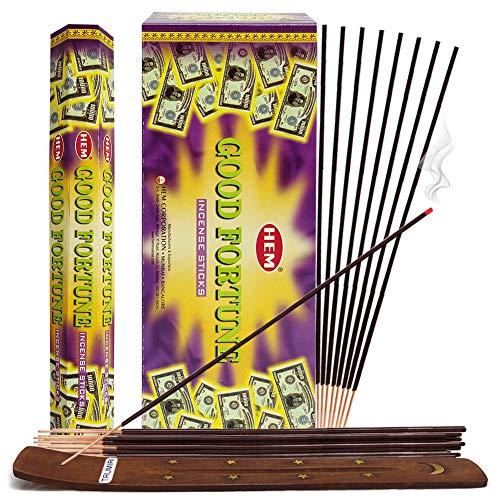 Good Fortune Incense Sticks And Incense Stick Holder Bundle Insence Insense Hem Incense Sticks