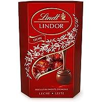 Lindt Lindor Bombones de Chocolate con Leche - Aprox. 16 bombones, 200 g