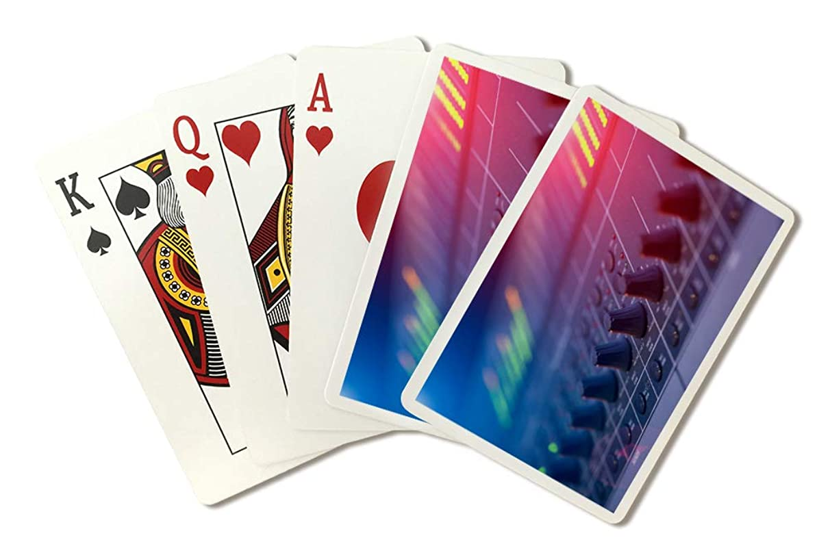 Sound Mixer Photography A-90941 (Playing Card Deck - 52 Card Poker Size with Jokers)