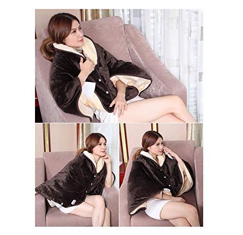 MU Tragbare elektrische Heizung Physiotherapie Mantel Stil Schal - zur Förderung der Durchblutung, lindern alle Arten von Schmerzen