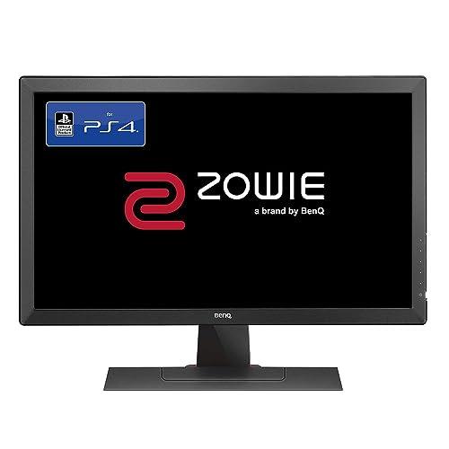 BenQ ZOWIE RL2455 Écran eSports Gaming de 24 pouces pour console - licence officielle PS4/PS4 Pro, 1ms, Noir Gris