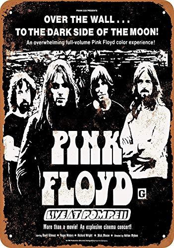 Pink Floyd Live at Pompeii Movie Blech Blechschild Warnschild Schilder Retro Blechschilder Metall Poster Malerei Wanddekoration Cafe Bar Geschäft Garage