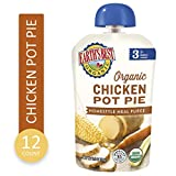 Earth's Best Organic Stage 3 Baby Food, Chicken Pot Pie Dinner, Non GMO Ingredients, 4 grams of Protein, 3.5...