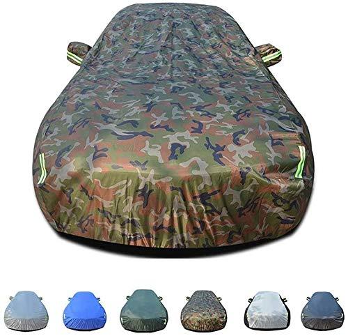 MMMP Juegos completos de Coche | Completamente Impermeable y Transpirable | Interiores y Exteriores de Todo Tiempo la protección | Nieve Mercedes GLC SUV | Plata compatibles (Color : Camouflage)