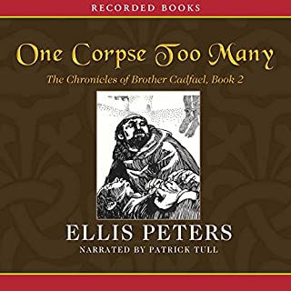 One Corpse Too Many audiobook cover art