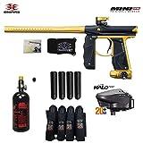 Empire Mini GS Advanced Paintball Gun Package (Dust Black/Gold)