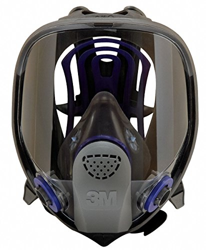 3M FF-403 Large Ultimate FX Full Face Reusable Respirator with Scotch Gard Lens Coating/Bayonet Connection