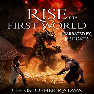 Rise of First World audiobook cover art