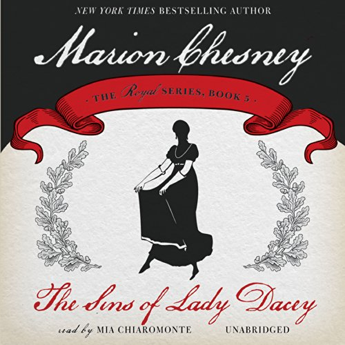 The Sins of Lady Dacey audiobook cover art