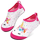 JOINFREE Water Shoes for Kids Boys Girls Swim Barefoot Shoes Soft...