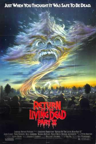 Return Of Living Dead 2 Poster 01 Photo A4 10x8 Poster Print