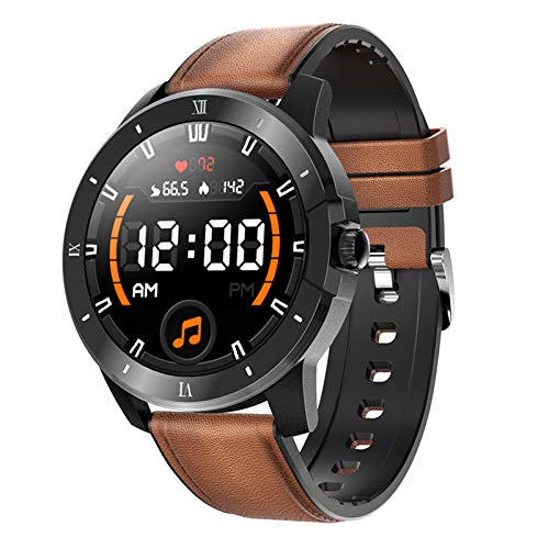 Gulu MX12 Relojes Inteligentes Reproductor De Música Bluetooth Llamada Reloj Ritmo Cardíaco Reloj De Alarma Deportes Pulsera Inteligente Impermeable Smartwatch,B
