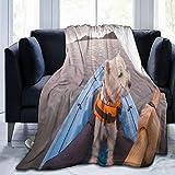 HUAYEXI Manta Franela Suave,West Highland White Terrier Perro Westie...