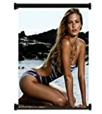 Bar Refaeli Sexy Model Fabric Wall Scroll Poster (16 x 21) Inches