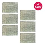Crucial Air Replacement Humidifier Filter- Compatible with Holmes Part # HWF-100 - Fits HM7204, HM7305, HM7305RC, HM7306, HM6000, HM6000RC, HM6600, HM6005HD, HM729, HM4600, HM630 (6 Pack)