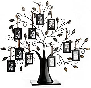 82d174a6160 Klikel Family Tree Picture Frame Display with 10 Hanging Picture Photo  Frames