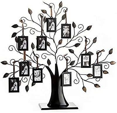 Amazon.com - Americanflat Bronze Family Tree Frame with 6 Hanging ...