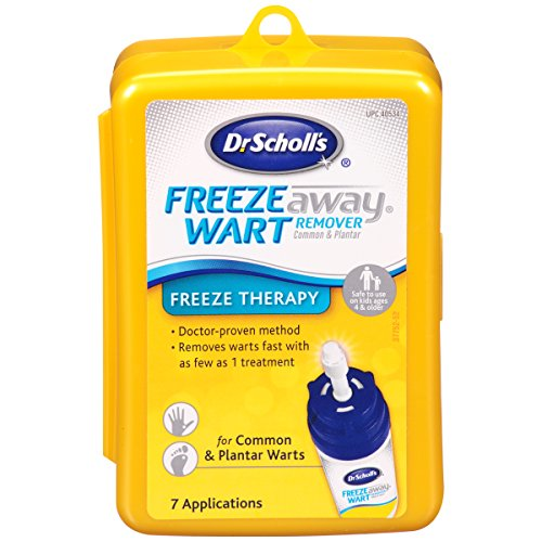 Dr. Scholl's Freeze Away Wart Remover, 7 Treatments (Yellow Box)