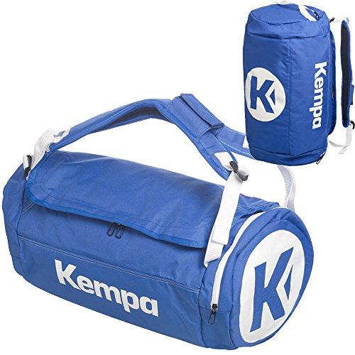 Kempa Sporttasche mit Rucksack-Funktion 54 x 28 x 28 cm, 40 L (blau)