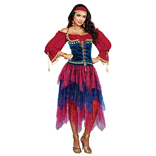 Dreamgirl 10669Kostüm Zigeunerin, groß