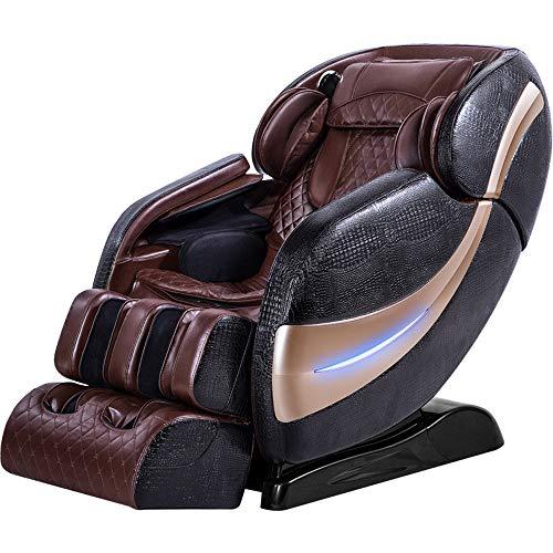 PXX Massage Stuhl Voll Körper Elektrisch Zuhause Intelligent Multifunktions Automatisch Sl Orbit Platz Kabine Alten Sofa Bürostuhl/Schwarz