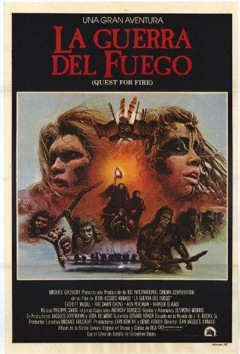 Quest for Fire Poster Movie Argentine 11x17 Everett McGill Ron Perlman Nameer El-Kadi Rae Dawn Chong