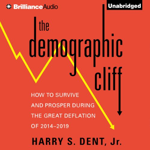 The Demographic Cliff audiobook cover art