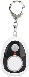 Veilig geluid persoonlijk alarm, 125dB zelfverdedigingssirene met SOS LED-lampje, draagbaar persoonlijk beveiligingssleute...