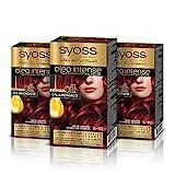 Syoss Oleo Intense - Tono 5-92 Rojo Intenso (Pack De 3) – Coloración permanente sin amoníaco –...