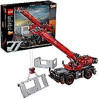LEGO Technic Rough Terrain Crane Building Kit (4056 Pieces)