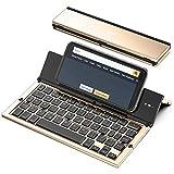 Best Foldable Keyboards - Foldable Bluetooth Keyboard, Geyes Folding Wireless Keyboard Review