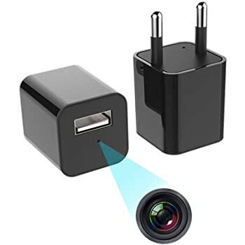 Enem USB Charger Spy Camera for Home | USB Hidden Camera , Mini Camera 1080P Full Hd Audio and Video Recorder | Pack of 1 |6 Months Warranty