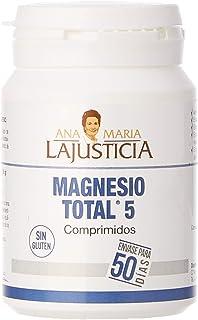 Ana Maria Lajusticia - Magnesio total 5 – 100 comp. Disminuye el cansancio y la fatiga. mejora el funcionamiento