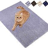 """Best Cat Litter Mats - Vivaglory 31""""× 20"""" Cat Litter Rug, Super Soft Review"""