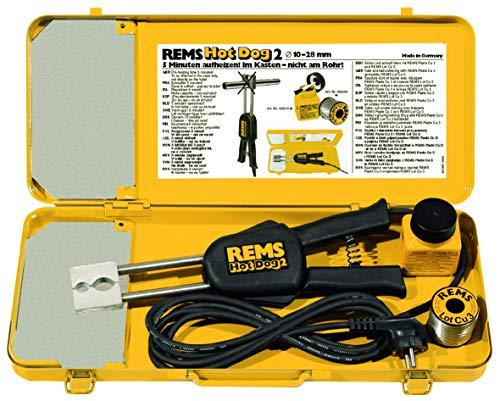 REMS Hot Dog 2 pincet solderen elektrische/A Hot dog2 koper diameter 10 – 28 mm