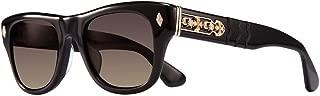 Chrome Hearts - Instagasm - Sunglasses (Black-Gold Plated, Dark Gray)