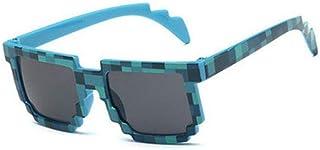 8c97b1ab2c LKHJ Lentes De Sol Gafas Pixel para Niños Gafas De Sol Bebé Niños Niña  Mosaico 2
