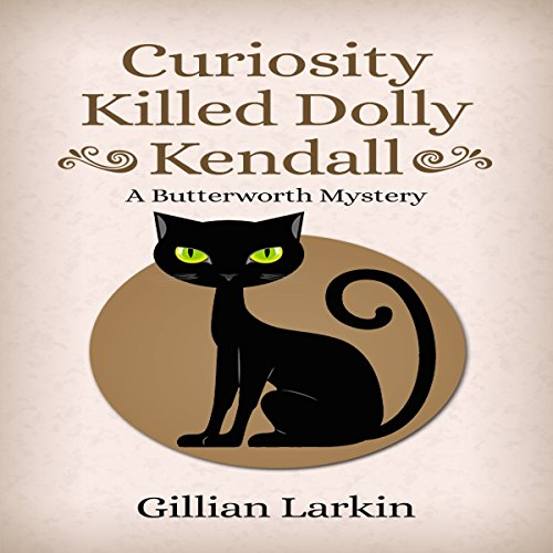 Curiosity Killed Dolly Kendall audiobook cover art