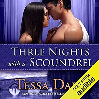 Three Nights with a Scoundrel cover art