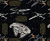Visage Star Wars Stoff – Rebellenschiffe – VISF157 –